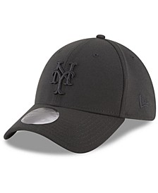 New York Mets Blackout 39THIRTY Cap
