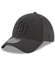 New Era San Diego Padres Blackout 39THIRTY Cap