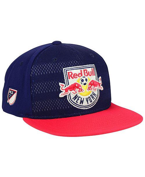 adidas New York Red Bulls Authentic Snapback Cap - Sports Fan Shop ... 4b3ba56c44a
