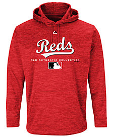 Majestic Men's Cincinnati Reds Ultra Streak Fleece