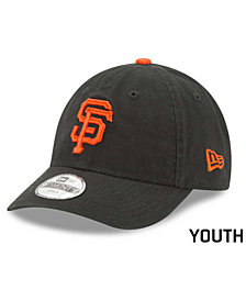 New Era Boys' San Francisco Giants Jr On-Field Replica 9TWENTY Cap