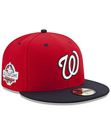 New Era Boys' Washington Nationals Washington All Star Game Patch 59FIFTY FITTED Cap