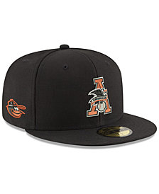New Era Baltimore Orioles League Front 59FIFTY FITTED Cap