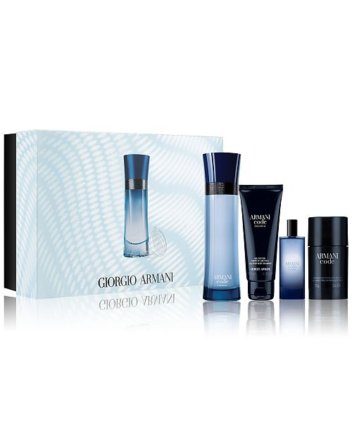 Giorgio Armani Men's 4-Pc. Armani Code Colonia Gift Set