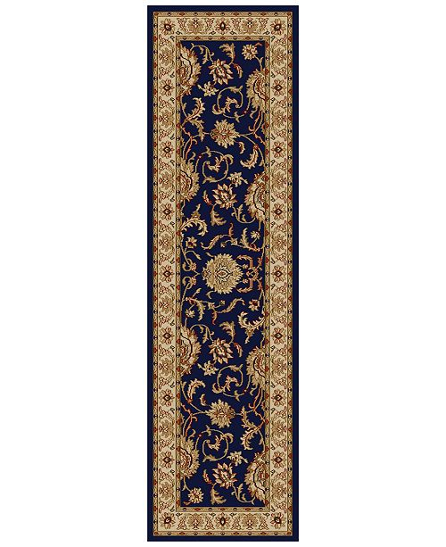 """KM Home CLOSEOUT! Pesaro Imperial 2'2"""" x 7'7"""" Runner"""
