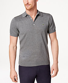 Lacoste Unisex 85th Anniversary Limited 1940's Edition Flecked Jersey Polo