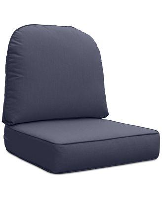 Northcape International Monterey Sandy Cove Outdoor Chair Replacement Sunbrella Cushion Quick Ship Furniture Macys