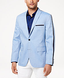 I.N.C. Men's Slim-Fit Taped Blazer, Created for Macy's