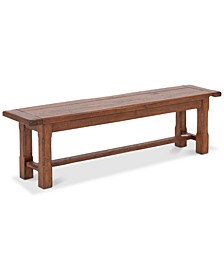 CLOSEOUT! Lena Dining Bench, Quick Ship