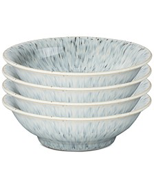 Denby Halo Collection 4-Pc. Shallow Bowls Set