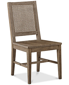 Harbor Cane Sidechair (Set of 2), Quick Ship