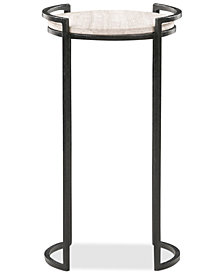Memphis Marble Accent Table, Quick Ship