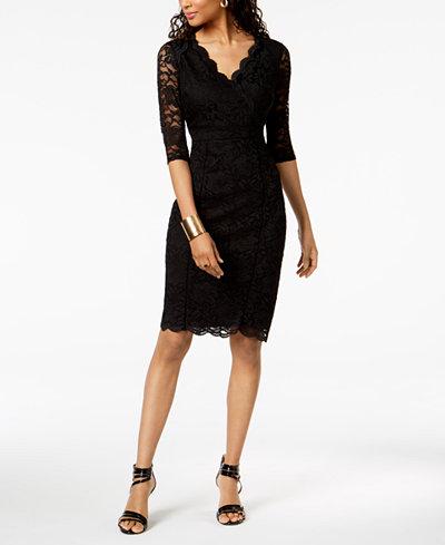 Thalia Sodi Lace Sheath Dress Created For Macy S Women