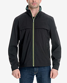 London Fog Men's Mechanical Stretch Jacket