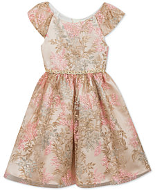 Rare Editions Little Girls Embroidered Dress