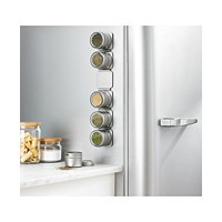 Martha Stewart Collection Magnetic Tin Spice Rack