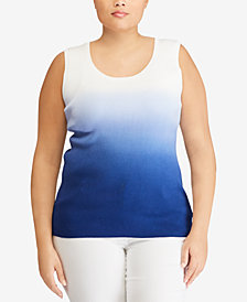 Lauren Ralph Lauren Plus Size Tank Top