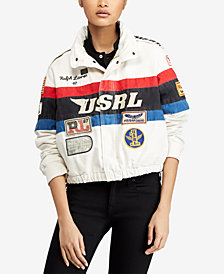 Polo Ralph Lauren Cotton Racing Jacket