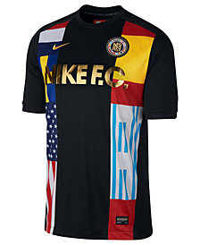 Nike Men's World's Football Club Printed Soccer Shirt