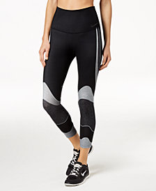 Nike Power Colorblocked Cropped Compression Leggings