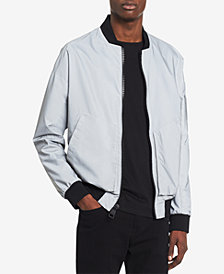Calvin Klein Men's Reflective Bomber Jacket