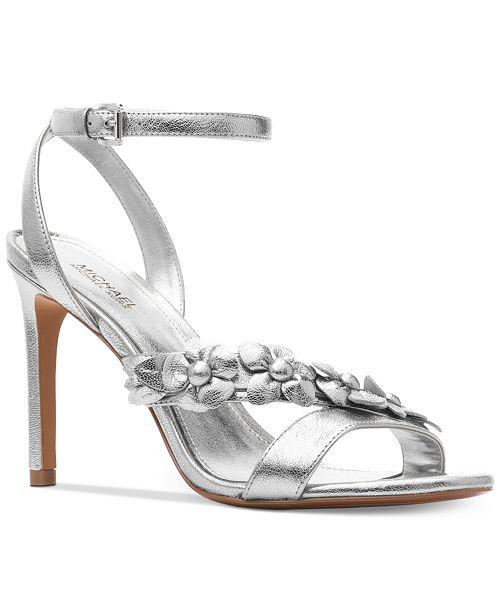 4ea45983b7bb Michael Kors Women s Tricia Dress Sandals   Reviews - Sandals   Flip ...