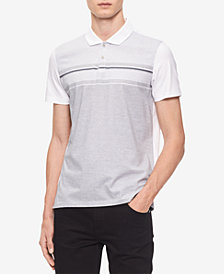 Calvin Klein Men's Engineered Jacquard Polo