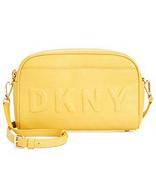 DKNY Logo Camera Bag Crossbody, Created for Macy's
