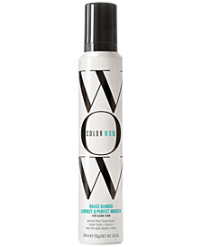 COLOR WOW Brass Banned Correct & Perfect Mousse For Dark Hair, 6.8-oz., from PUREBEAUTY Salon & Spa