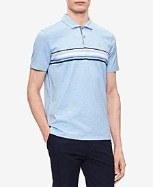 Calvin Klein Men's Striped Polo