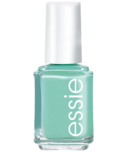 essie nail color, turquoise & caicos