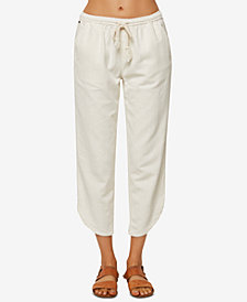 O'Neill Juniors' Stephie Cropped Soft Pants