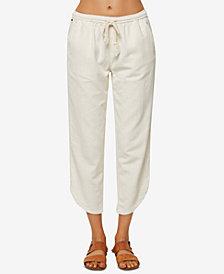 O'Neill Juniors' Stephie Cropped Soft Pants