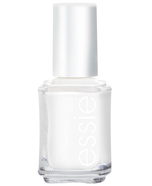 Essie nail color, blanc