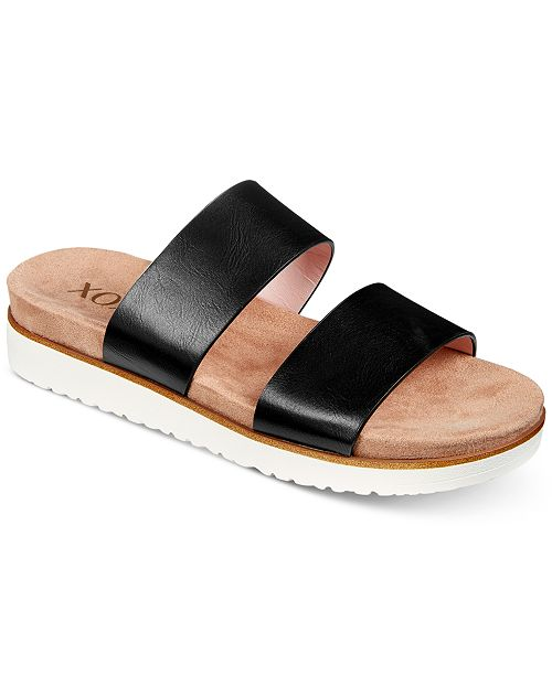 68c88d96a55a1 XOXO Dylan Flat Sandals   Reviews - Sandals   Flip Flops - Shoes ...