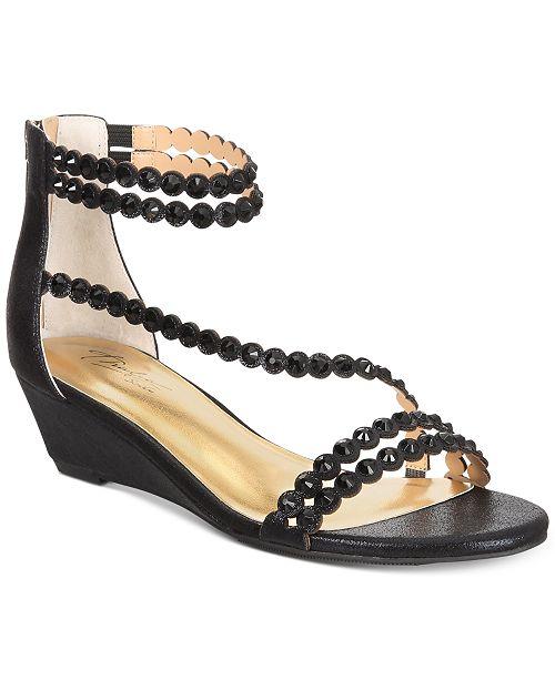402f6cebf Thalia Sodi Tachani Wedge Dress Sandals