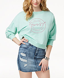 GUESS Logo Graphic Sweatshirt