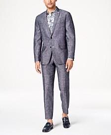 INC Men's Slim-Fit Textured Linen Suit Separates, Created for Macy's