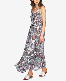 1.STATE Printed Maxi Dress