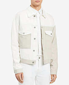 Calvin Klein Jeans Men's Colorblocked Trucker Jacket