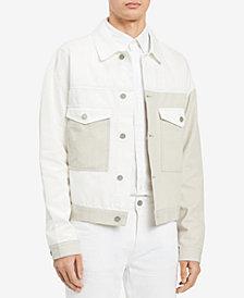 Calvin Klein Jeans Men's Colorblocked Trucker Jacket