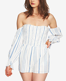 1.STATE Off-The-Shoulder Romper