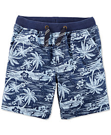 Carter's Toddler Boys Palm-Print Cotton Shorts