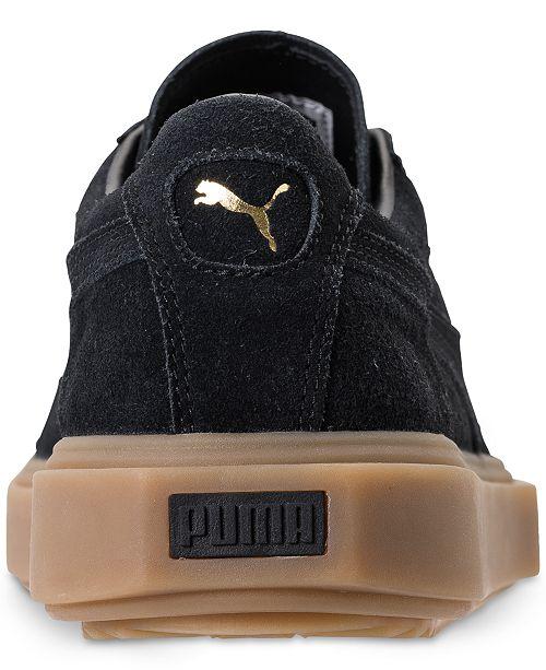 c720f7c7ef2a Puma Men s Breaker Suede Gum Casual Sneakers from Finish Line ...