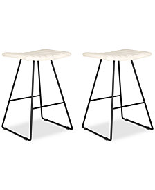 Nicklin Counter Stool (Set Of 2), Quick Ship