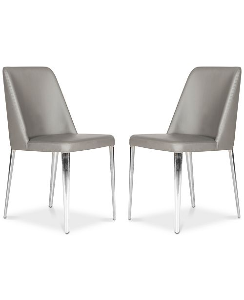 Safavieh Chandler Faux Leather Side Chair (Set Of 2)