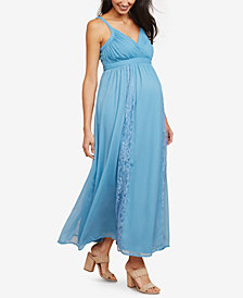 Motherhood Maternity V-Neck Maxi Dress