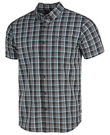Rip Curl Men's Tight Weave Plaid Pocket Shirt