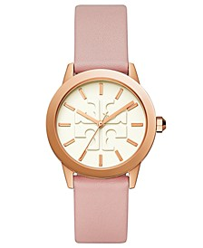Women's Gigi Pink Leather Strap Watch 36mm