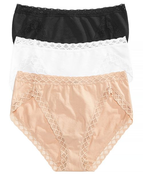Natori Bliss French Cut 3-Pack Brief 152058MP